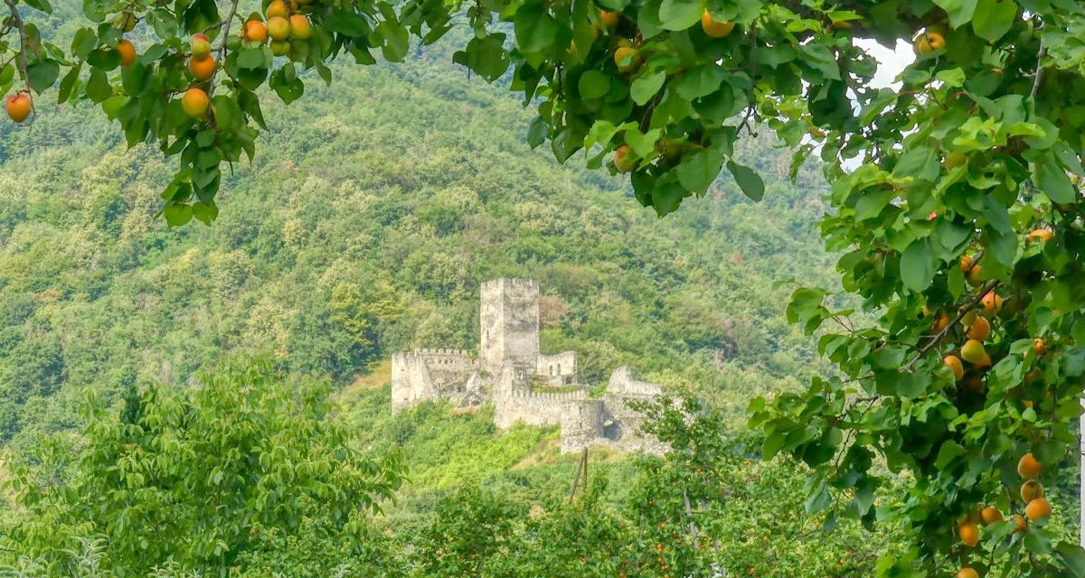 Kurze Wanderung zur Ruine Hinterhaus