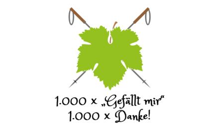 "1.000 × ""Gefällt mir"", 1.000 × Danke!"