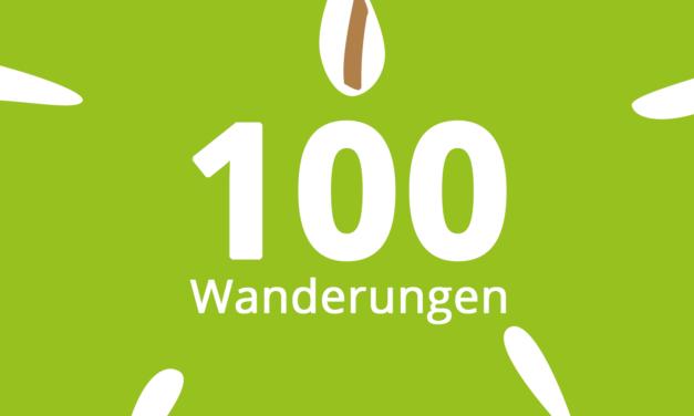Die 100. Wanderung wurde veröffentlicht!
