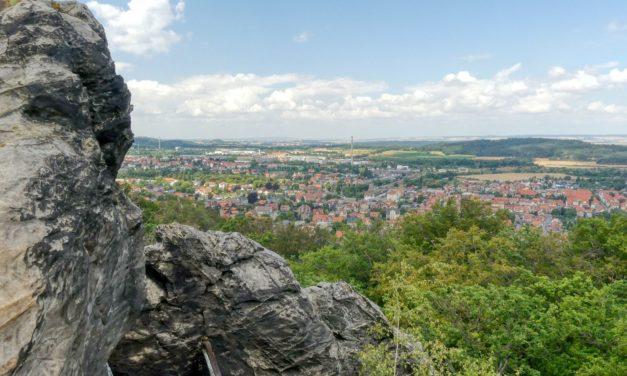 (W)anderswo: Kurzer, aber schwieriger Aufstieg auf den Großvater bei Blankenburg im Harz