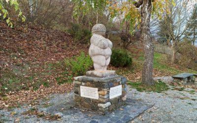 Kurzer Spaziergang zur Fundstelle der Venus von Willendorf