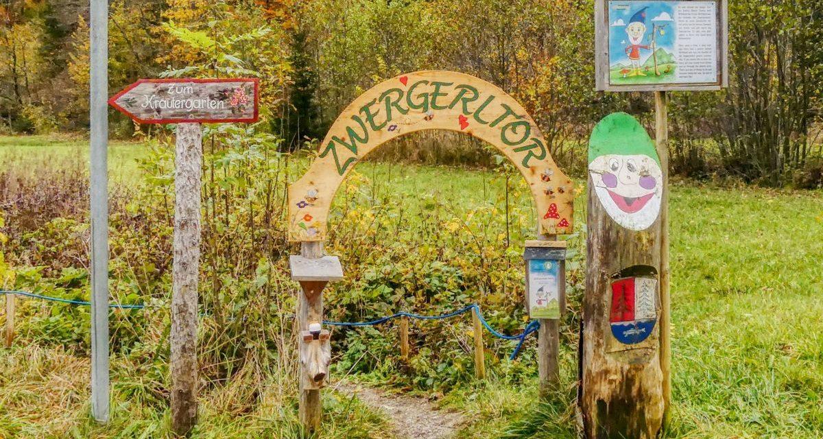 (W)anderswo: Der Zwergerlweg bei Fuschl am See