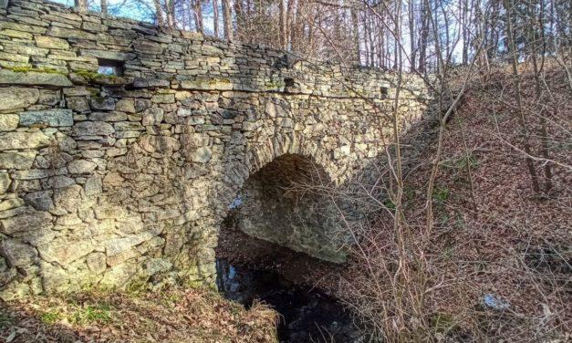 Kleine Rundwanderung über die Römerbrücke bei Lanzing