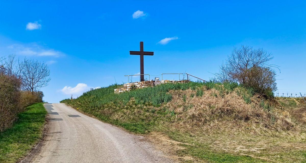 Der Kogelbergweg in Zöbing (ehem. Langenloiser Wanderroute 7, heute NÖ Wanderroute 67)
