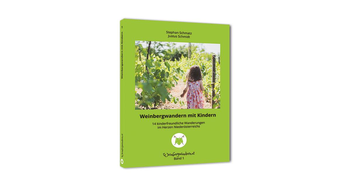 """Das neue Buch """"Weinbergwandern mit Kindern"""""""