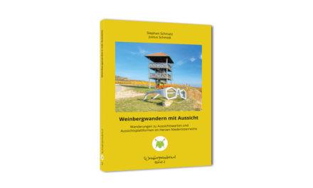 """Das neue Buch """"Weinbergwandern mit Aussicht"""""""