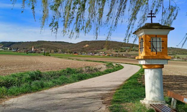 2. Rund-Marterlwanderweg Wölbling (kurze Variante über alle zwei Marterl am Flötzersteig)