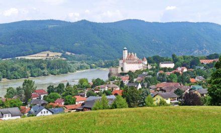 Der Ziegelfeldweg in Schönbühel