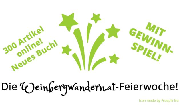 Die Weinbergwandern.at-Feierwoche – mit Gewinnspiel!